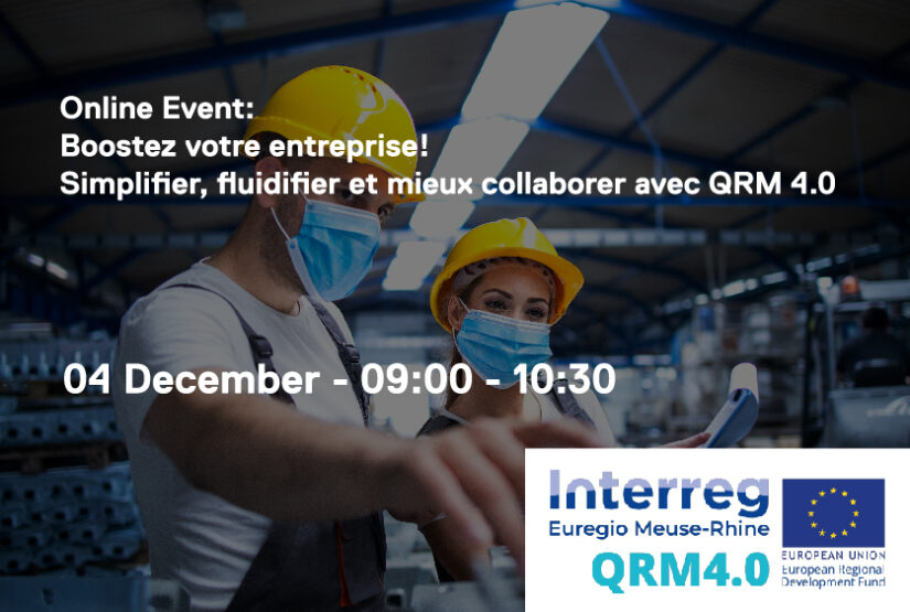 4 December: Online launch event Walloon partners